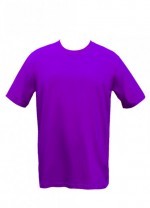 Purple Drifit Round neck