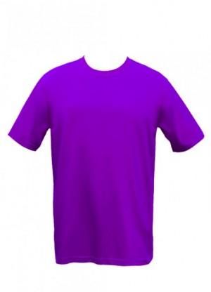 Purple Drifit Round neck