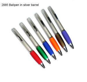 NL2885 Ballpen with Silver Barrel