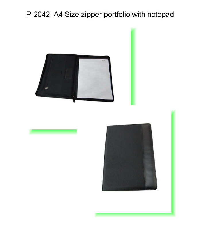 NLP-2042 A4 Size Portfolio with Notepad (NL Series) | T