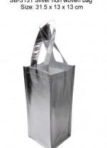 nlsb-3131_silver_non_woven_bag