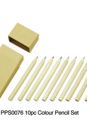 PPS0076 10pc Colour Pencil Set (Featured)
