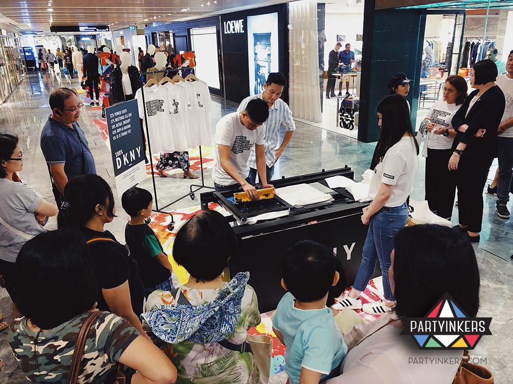 cdf344db Live Event Printing | Onsite Silkscreen Printing Singapore